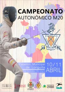 Cartel Campeonato Autonómico Junior 2021